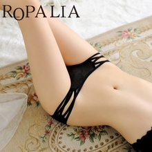 Buy Ropalia Underwear Women 1Pc Sexy Women Lady Hollow Briefs Underwear Knickers Panties Lingerie Thongs G-String Dress