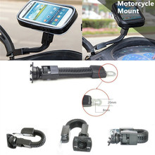 Motorcycle Waterproof Cell Phone Bag Stand Holder Motorbike Long Stem Mount for Moto/iPhone 7/6s/6/plus/LG g6/g5/g4/g3/V20/Meizu