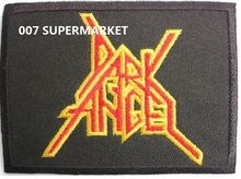 DARK ANGEL Music Band Metal Iron On Patch Tshirt TRANSFER MOTIF APPLIQUE Rock Punk Badge