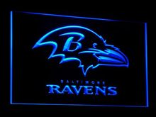 b064 Baltimore Ravens Super Bowl LED Neon Sign with On/Off Switch 20+ Colors 5 Sizes to choose(China)