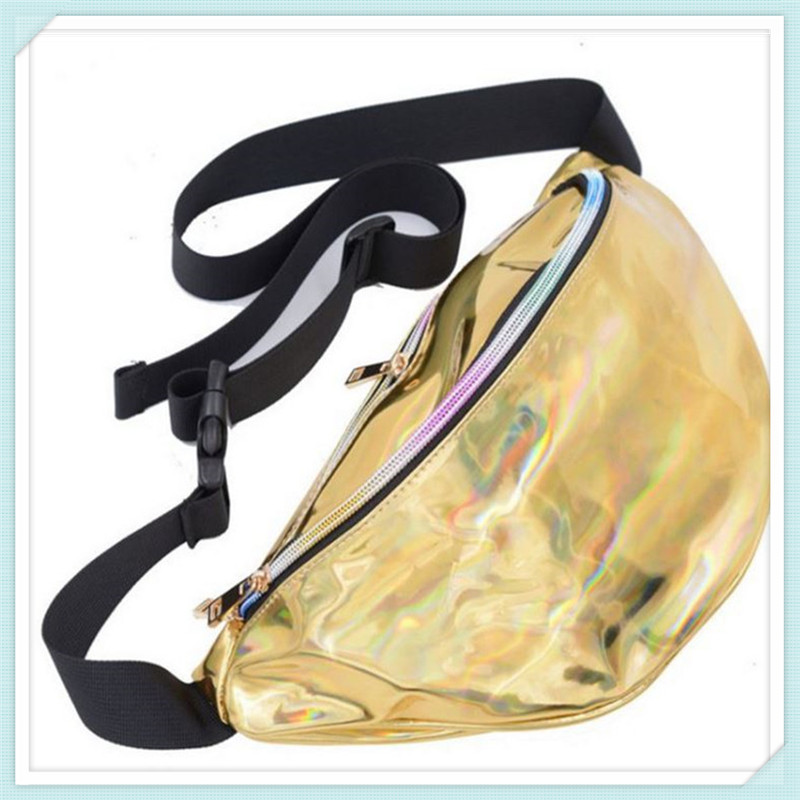 238cdd4cb033 Solid Silver Belt Bag Women Leather Bags 2016 Pu Cordura Military ...
