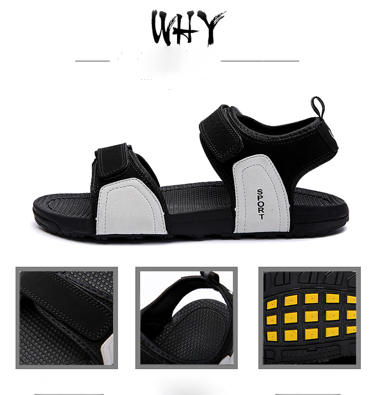 5ca5b5e92b0ef DJSUNNYMIX Summer Fashion New Style Men Sandals Comfortable ...