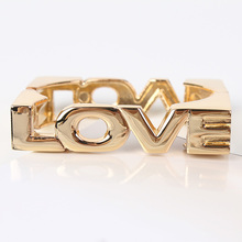 Min. Order $10 RB723 Hot Sale Love Bangle Bracelet Cube Design High Quality Cuff Bangle New Free Shipping(China)