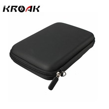 7 Inches GPS Navigation Protection Package Hard Disk Drive HDD Tablet Cover Bag PU Hard Shell Carry Case Bag Cover Protector(China)