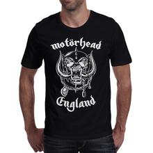 Menbone 2017 Hot New Men T shirts Motorhead Printed T-Shirts Unisex rock music 100% Cotton Clothes Casual Tee brand clothing(China)