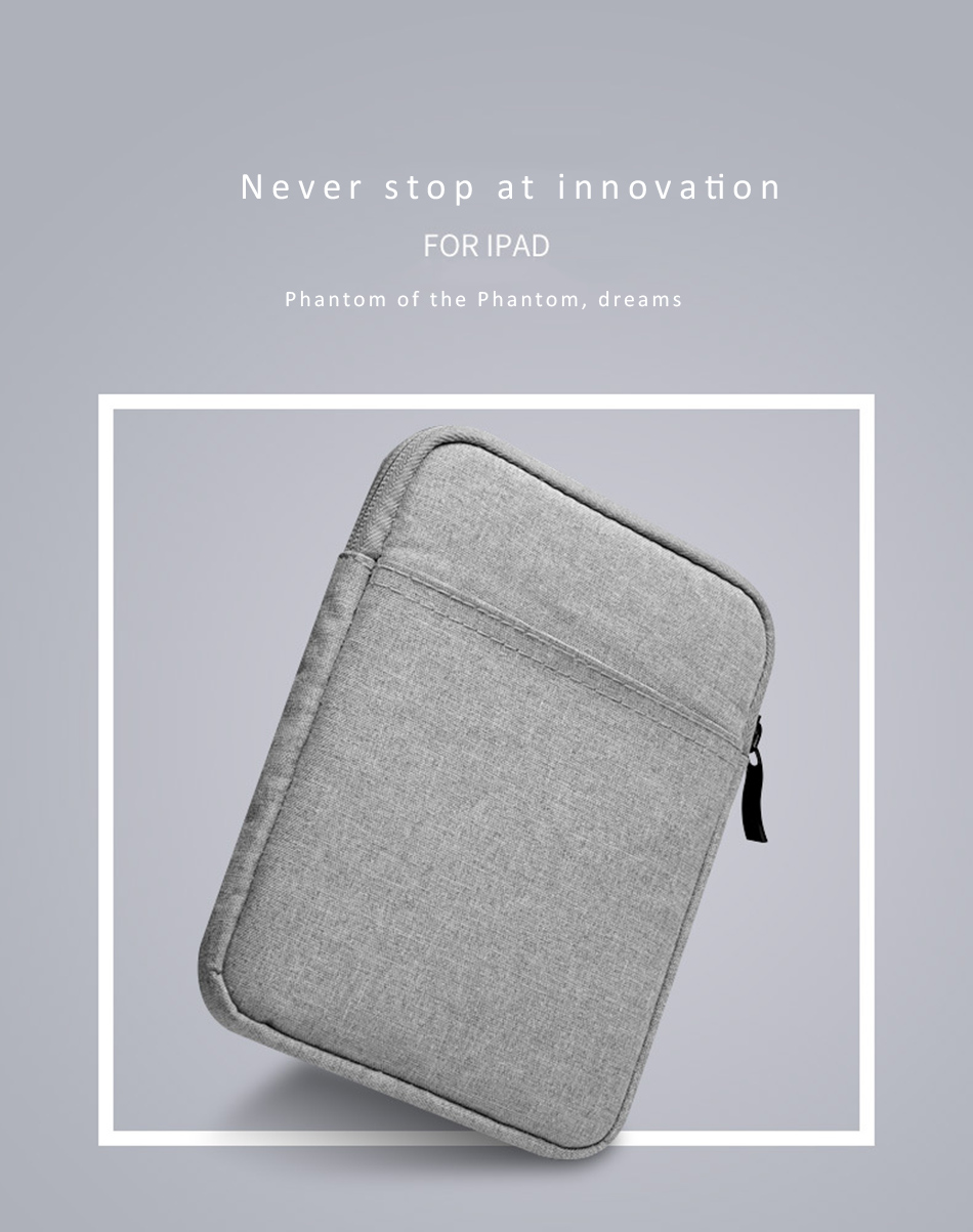 Cotton Shockproof 9.710 inch Tablet Sleeve Bag Cover Funda For New iPad 9.7 Pro9.7 Air 1 2 Protective Pouch Thick Case Shell (1)