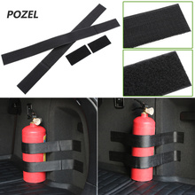 Black Roll Bar Fire Extinguisher Holder Car Styling For all series 1 2 3 4 5 6 7 X E F-series E46 E90 X1 X3 X4 X5 X6 F07 F09