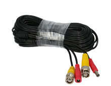 BNC Video Power Cable 65ft 18m 20m for Analog AHD CVI CCTV Surveillance Camera DVR Kit