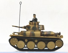 Out of print boutique 1:72 The German armored car 38T light tank model Alloy collection model(China)