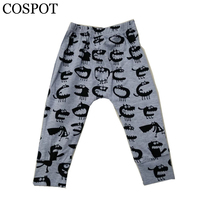 COSPOT 2017 Fashion 0-5 Years Baby Girls Boys Cartoon Pants Infant Newborn Baby Cartoon PP Trousers Cotton 30F