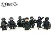 Flying Tigers SDU weapons gun original Block toys swat police military weapons army accessories Compatible lepin mini figures