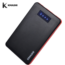 KMASHI 20000mAh Power Bank Quick Charge 2.0 Portable External Battery Pack with LED Indicator Backup Charger Dual USB Powerbank(China)