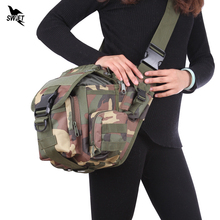 Tactical Mens Messenger Bag MOLLE Crossbody Military Equipment Shoulder Bags Multifunction Professional Camera Durable Backpack