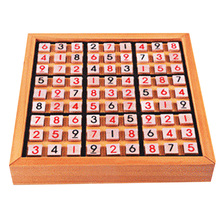 Wooden Puzzle Sudoku Play Game Wood Toys for Children Intelligence Toys Puzzles for Children Rompecabezas Brinquedos Educativos
