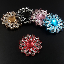 Buy Fidget Spinner 12 Steel Bead lotus Petal Hand spinner Finger Spiner Gyro Toys Autism ADHD Adult Anti Stress Children Kids for $6.02 in AliExpress store
