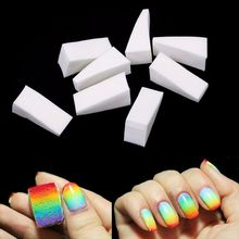 Belen 8pcs Gradient Nails Soft Sponges for Color Fade Manicure DIY Creative Nail Art Tool Accessories Color Changing Nail Polish