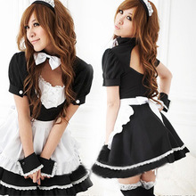 Buy Sexy Lingerie Sexy Underwear Lovely Female Maid Lace Sexy Miniskirt Lolita Maid Outfit Sexy Costume Sex Products