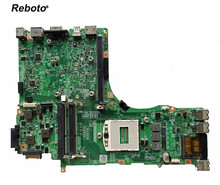 Reboto FOR MSI GT60 laptop motherboard Mainboard MS-16F41 MS 16F41 VER: 1.1 DDR3 PGA 947 100% Tested Fast Ship(China)