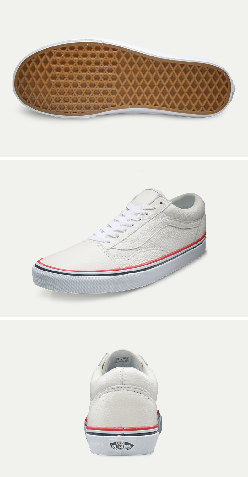 Intersport Original Vans Classic Vans Unisex Skateboarding Shoes Old Skool Sports Shoes Sneakers Classique Shoes Platform