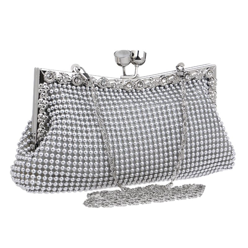 Diamonds women evening bags small purse clutches handbags silver/gold/black rhinestones evening bags for wedding tote<br><br>Aliexpress