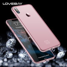 Buy Lovebay iPhone X 8 7 6 6s Plus 5 5s SE Phone Cases Glitter Bling Diamond Transparent Soft TPU Back Cover Case iPhoneX 5s for $1.44 in AliExpress store