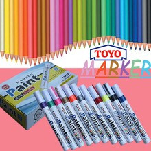 Toyo paint pen SA101 waterproof marking pen, color paint marker pen, tire metal surface repair paint marker