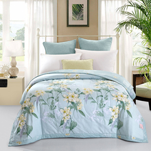 classical summer quilted Quilt 150*200cm 200*230cm size thin bedding Throws Blanket Plaids(China)