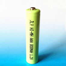 Free shipping cordless phone battery Ni-MH Ni mh Size AAA 1.2V 800mAh wireless telephone battery 100pcs/lot(China)