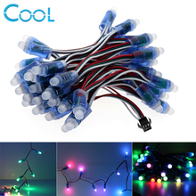 1Lot WS2811 RGB LED Module IP68 Waterproof DC12V Full Color LED Pixel Module String Point Lights(China)