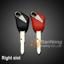 2 PCS Motorcycle Uncut Blade Blank Key For Kawasaki Z500 Z750 Z800 Z1000 ZX-10R ZX-6R 636 ZX-14R ZZR1400 Ninja ZX-14 ZX10R