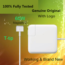 "Crazy Cow For magsafe 2 60W 16.5V 3.65A T tip power adapter charger for apple For Macbook pro 13"" A1435 A1465 A1425 A1502(China)"