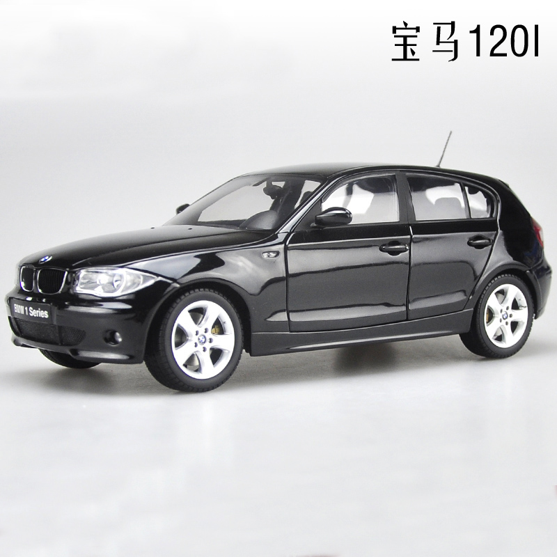 1:18 120i 1 Series Car Model KYOSHO alloy metal diecast Hatchback Luxury cars original in Stock car boy birthday gift collection(China (Mainland))