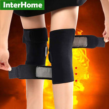 High Quality Tourmaline Self-Heating Knee Pads Health Far Infrared Magnetic Therapy Heating Knee Protector Pad Joint Arthritis(China)