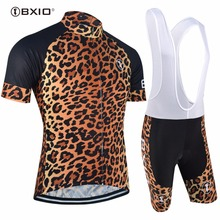 Buy New Leopard Cycling Jersey Sets Pro Team Ropa De Ciclismo Hot Cycling Clothing Short Sleeve Bicycle Clothes Ropa De Ciclismo 032 for $28.87 in AliExpress store