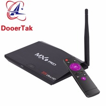 5PCS UP MX9 Pro Android 7.1 Smart TV Box RK3328 Quad-Core 2G/16G H.265 UHD 4K VP9 HDR 3D 2.4G WiFi Bluetooth 4.0 HD Media Player