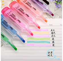 1Pcs/Sell 6 Color Sketch Touch Calligraphy Copic Stabilo Marker Pens Permanent Art Stationery Escolar New School Supplies