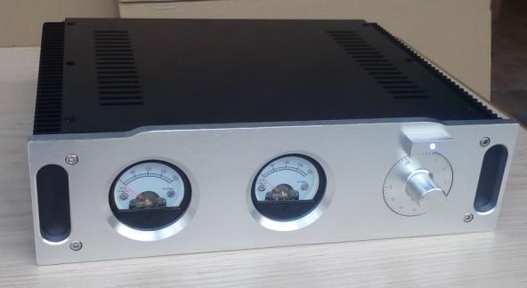 DIY Aluminum Enclosure Class A amplifier box /AMP chassis 320*256*90mm<br><br>Aliexpress