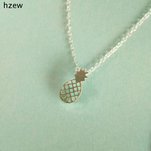 hzew Fruit Necklace For Women Pineapple pendant Necklace