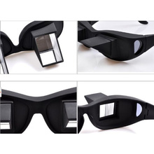 HOT Horizontal Glasses Refraction Glasses Bed Prism Spectacles Glasses&Free CableTie(China)