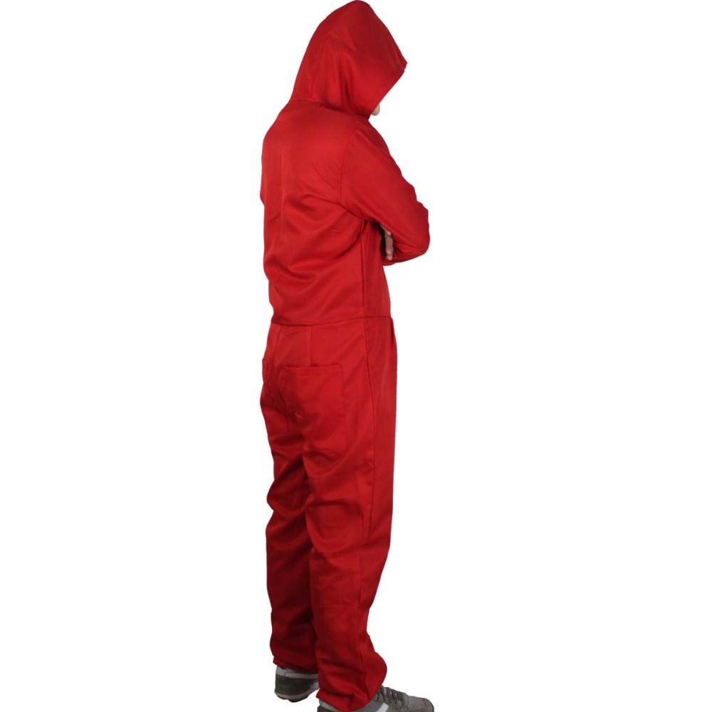 Salvador Dali Movie Costume Cosplay Money Heist The House of Paper La Casa De Papel Cosplay Costumes+Face Mask3