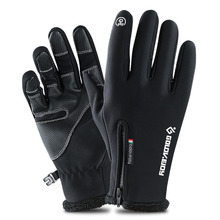 Outdoor Running Hiking Cycling Gloves Winter Touchscreen Knitted Gloves Thicken Warm Gloves Sports Mittens Gloves