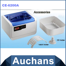 Super Large 1.4L Volume Ultrasonic Cleaner JIEKANG CE-6200A 70W Household Denture Cleaner EMS Freeshipping(China)
