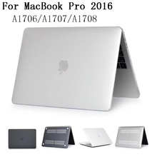 New Matte Hard case cover for Apple Macbook Pro 13 15 Air 11.6 laptop Cases For Mac book 2016 A1706/A1708/A1707,SKU 0132LA