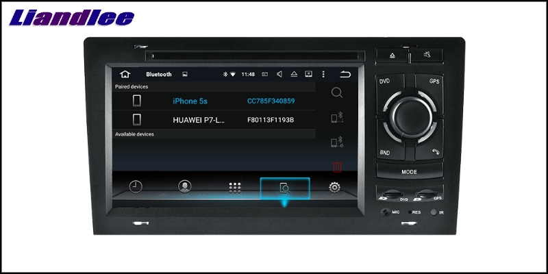 Liandlee Car Multimedia Player NAVI For Audi A8 S8 D2 4D 1994~2003 Car Touch Screen System Radio TV DVD Stereo GPS Navigation 9