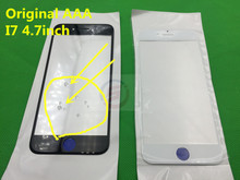 50pcs/lot Original Replacement LCD Front Touch Screen Outer Glass Lens For iphone 7 7G 4.7inch  oleophobic coating AAA
