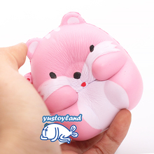 New Squishy Slow Rising Kawaii 8CM Hamster Mouse Soft Squeeze Cute Cell Phone Strap Bread Cake Scented Stretchy Toy Gift Pendant