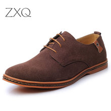 Men's Shoes chaussure homme Plus Size 38-48 Handmade Soft Leather Men Shoes Flat Casual Shoes Brand Men Oxford Shoes