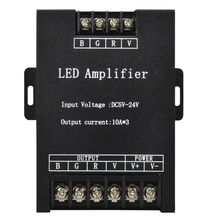 DC5-24V 30A Led RGB Amplifier for 3528 5050 5730 3014 4014 RGB Led strip light  LED Strip Power Repeater Console Controller.