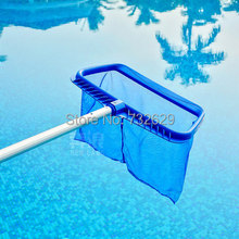 Swimming Pool Super Deep Leaf Skimmer Rake Pools Spas Skimmer Heavy Duty Koi Pond(China)