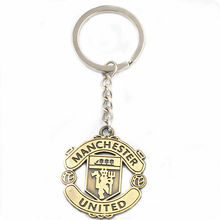 Hot fashion fans souvenir keychain! Europe and the United Football Club LOGO keychain basketball fans favorite souvenir gifts